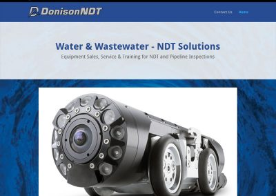 Donison NDT Website