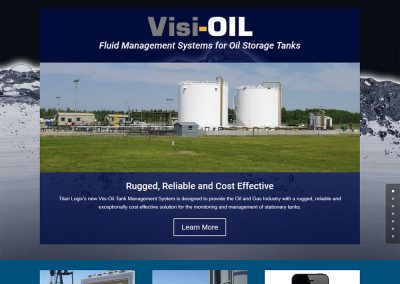 Titan Logix – Visi-OIL Website