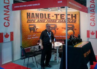 Handle-Tech - 3m x 3m - Abu-Dhabi - Inflatable Backdrop.