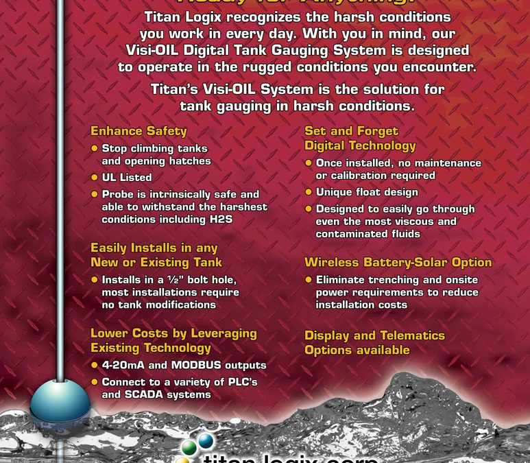 Titan Logix – Visi-OIL Flyer