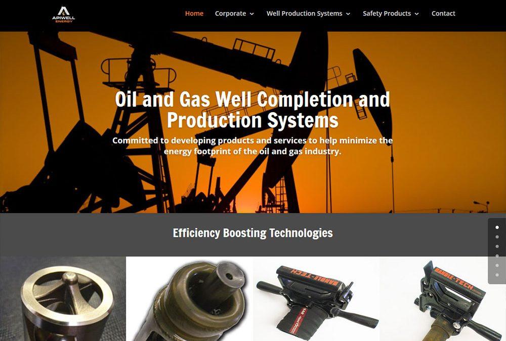 APIWELL Energy Website