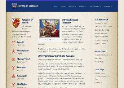 Borealis SCA Website