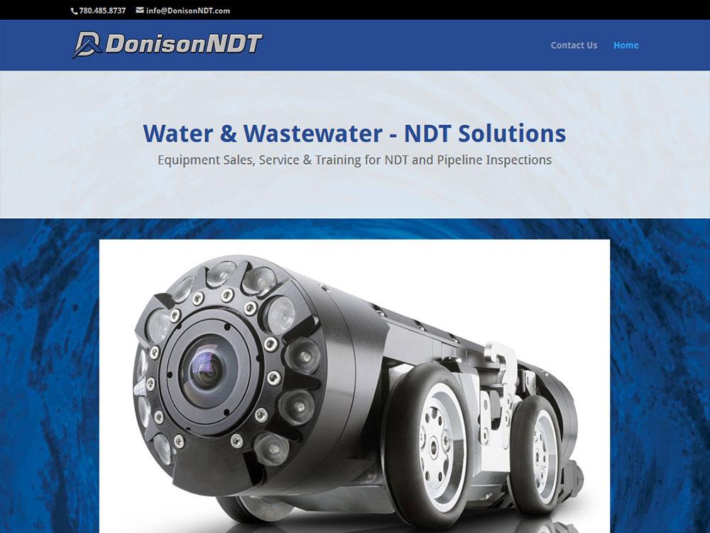 Donison NDT Website