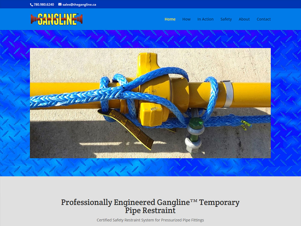 Gangline Website