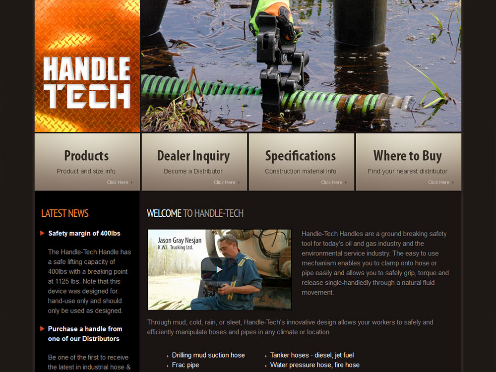 Handle-Tech Website