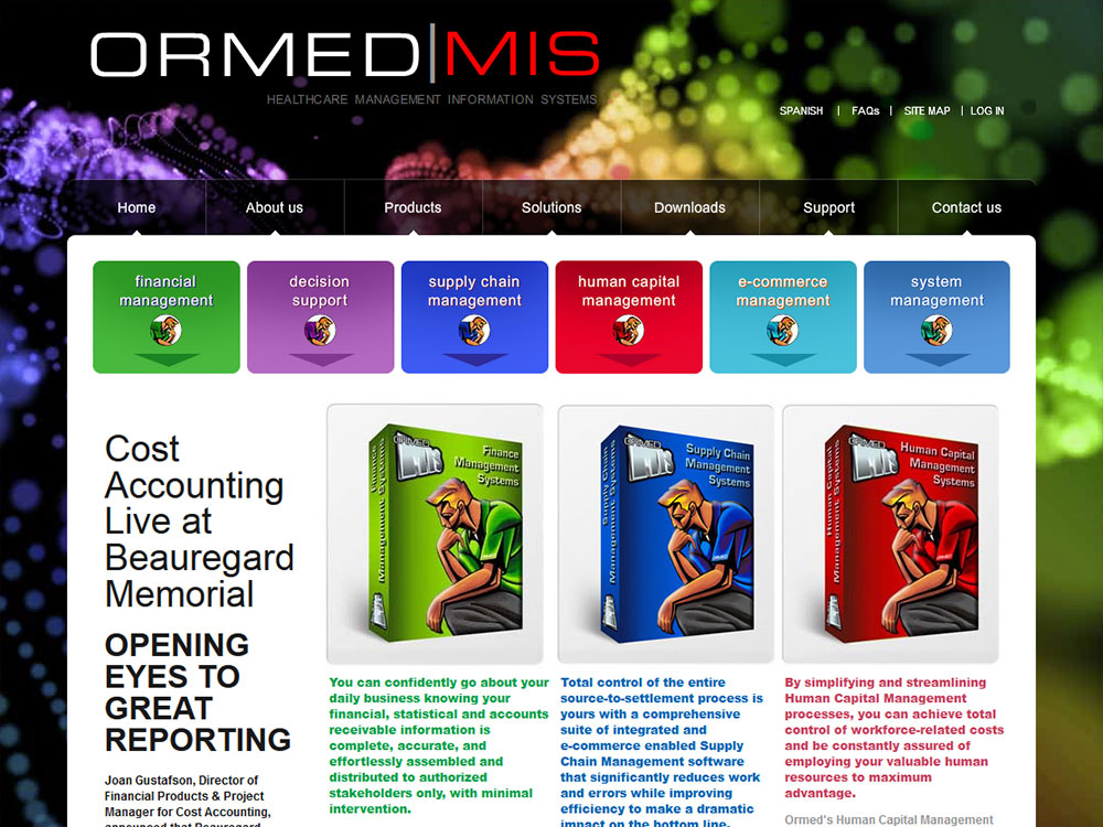 Ormed Website