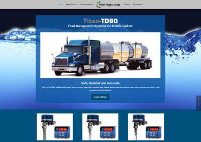 Titan Logix – TD80 Website
