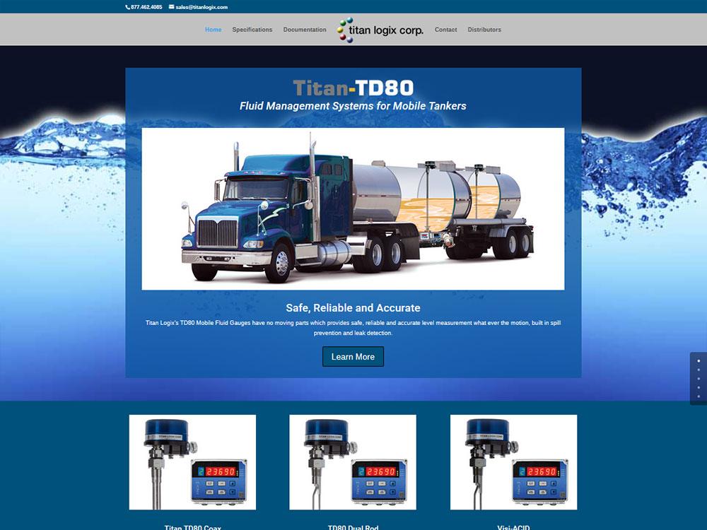 Titan Logix - TD80 Website