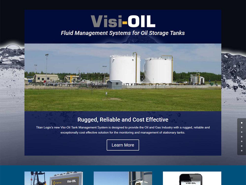 Titan L:ogix - Visi-Oil Website