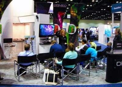 Ormed 20 x 20 Rainbow Booth - With AV Presentation